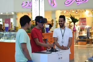 Virtual Reality at Hijaz Mall Makkah July 2017